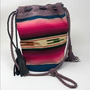 Handbags - Totem Salvaged Serape Bucket Bag